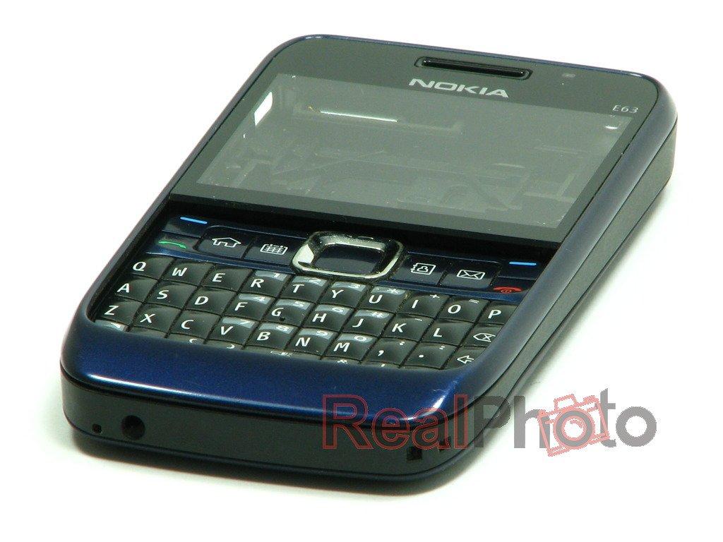 Nokia E63 Blue GENUINE HOUSING...