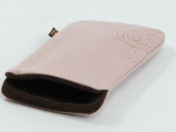 POUCH POCKET CASE NOKIA CP109 7373 7360 7390 WITH STRAPS PINK