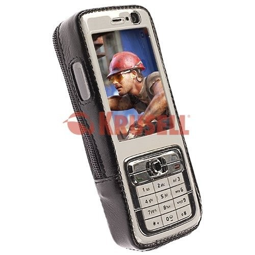 CASE COVER POUCH KRUSELL NOKIA N73 LEATHER   Cases