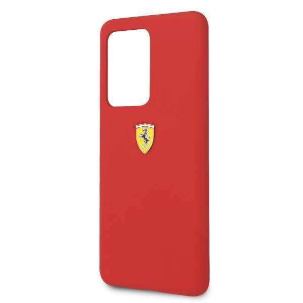 Ferrari Samsung Galaxy S20 Ultra Silicone Red Case All4phone Com Phone Accessories Mobile Phone Cases For Iphone Usb Cables Batteries Chargers Covers