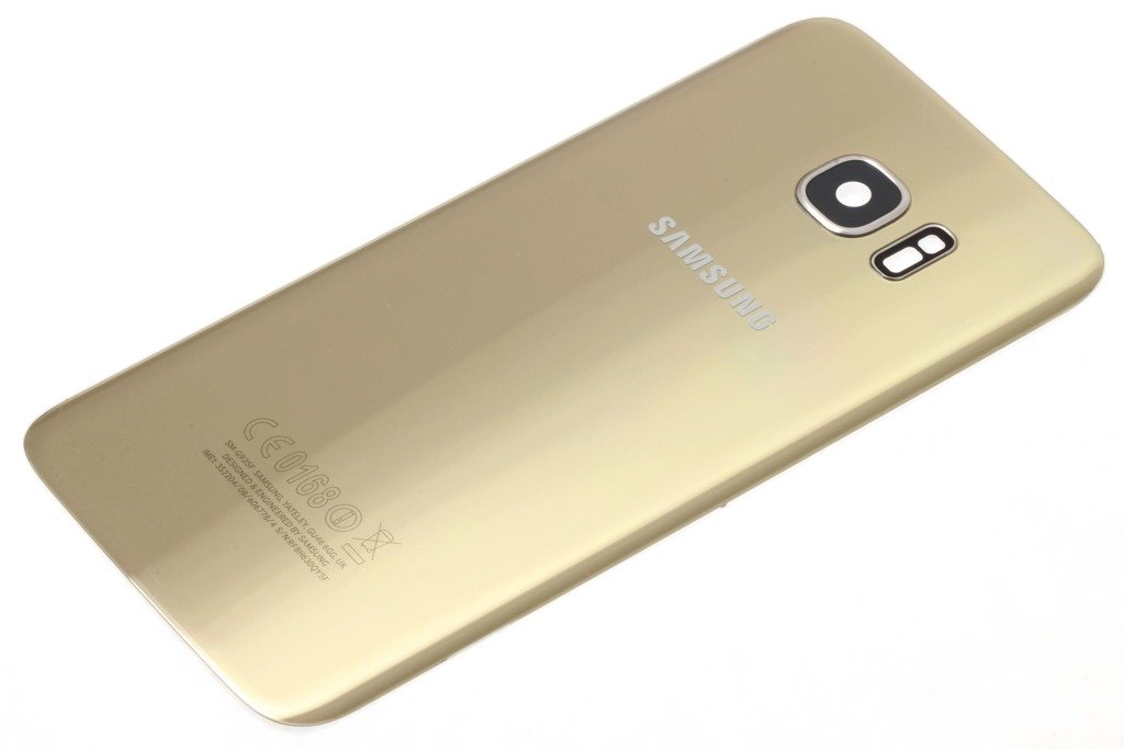 cover samsung s7 edge gold
