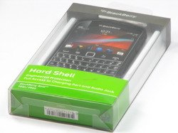 BRAND NEW GENUINE HARD SHELL CASE FOR BLACKBERRY BOLD 9900 BLACK COVER