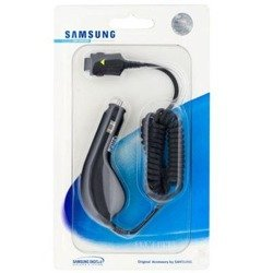 GENUINE CAR CHARGER SAMSUNG D600 X450 X520 D600 CAD300ABE