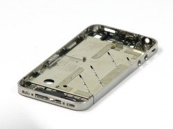 HOUSING APPLE iPHONE 4 GENUINE BODY + BATTERY COVER