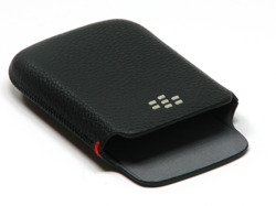 POUCH POCKET BLACKBERRY 9300 9330 CURVE 9700 9780 BOLD GENUINE LEATHER