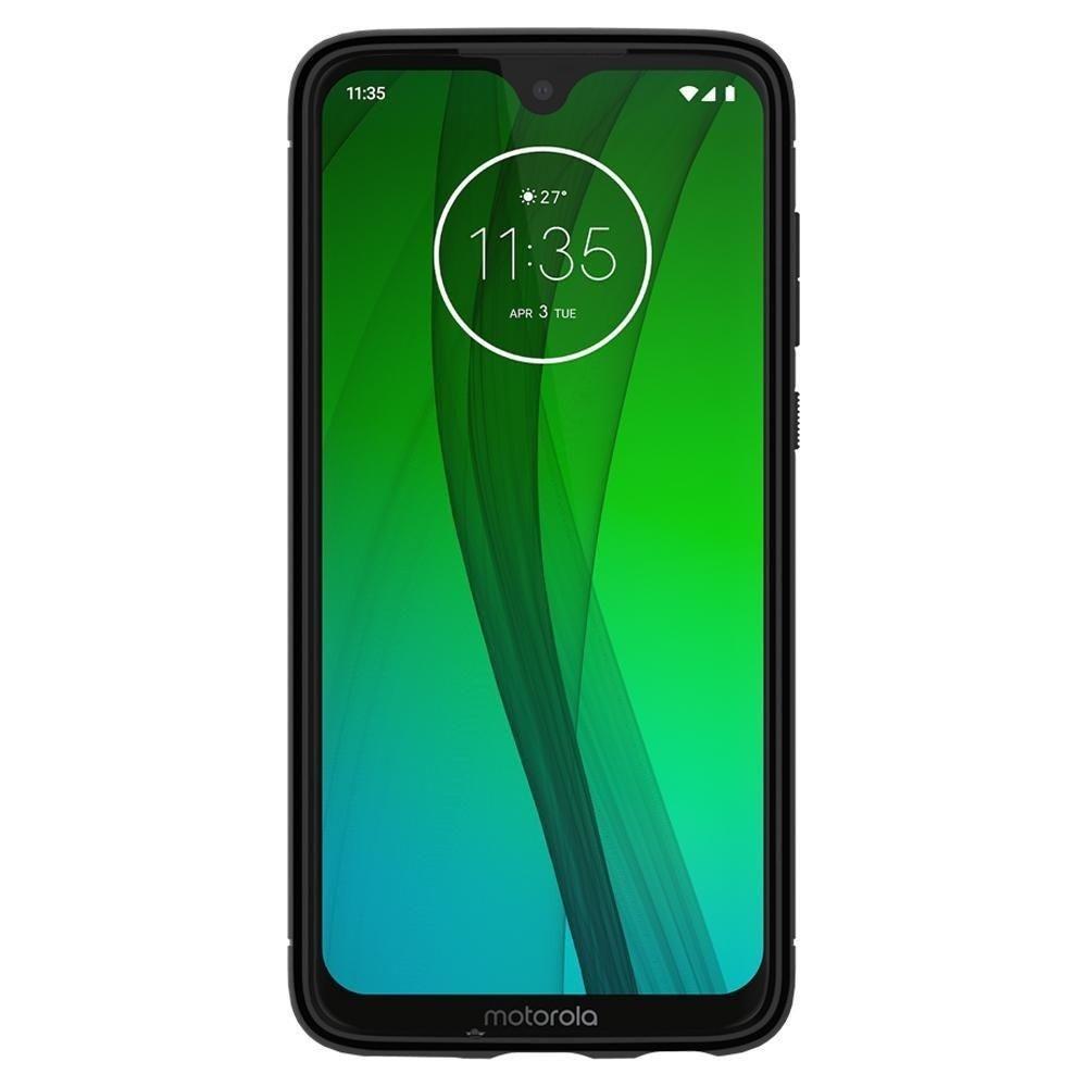 Etui Spigen Robuste Rüstung Motorola Moto G7 G7 Plus Schwarzes Gehäuse Akcesoria Gsm Nokia Sony Ericsson Motorola